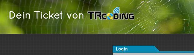 Ticketsystem TRcoding