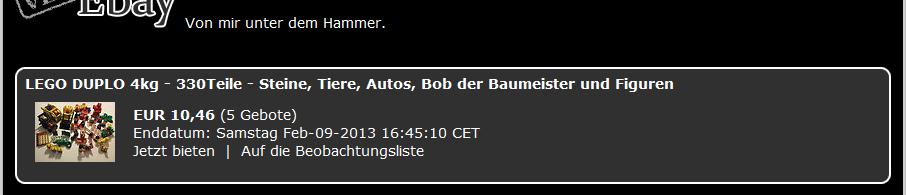 ebay Script ffürr Tortys Welt