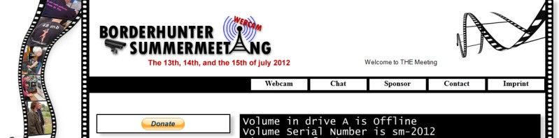 Webcam Page Summermeeting 2012